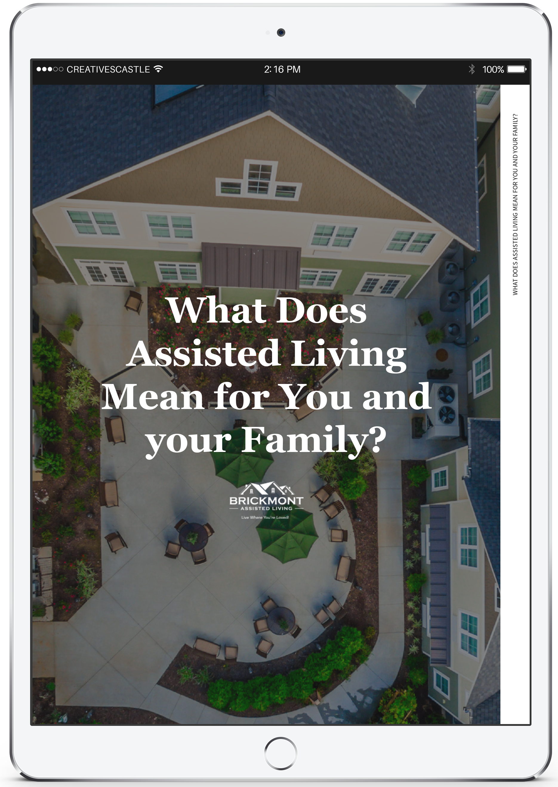 What Does Assisted Living Mean for You and your Family? eBook_Brickmont